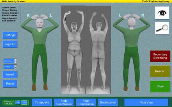 Full-body Scanning Facts