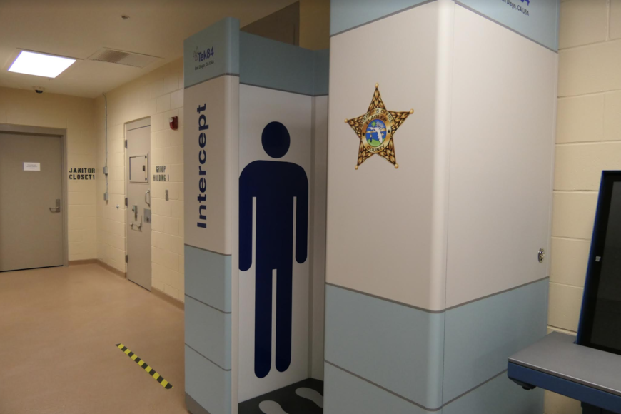 FCSO install state-of-the-art body-scanning tech at Flagler County Jail