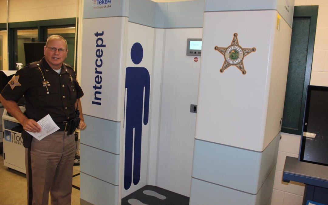 CARES Act pays for new body scanner at jail