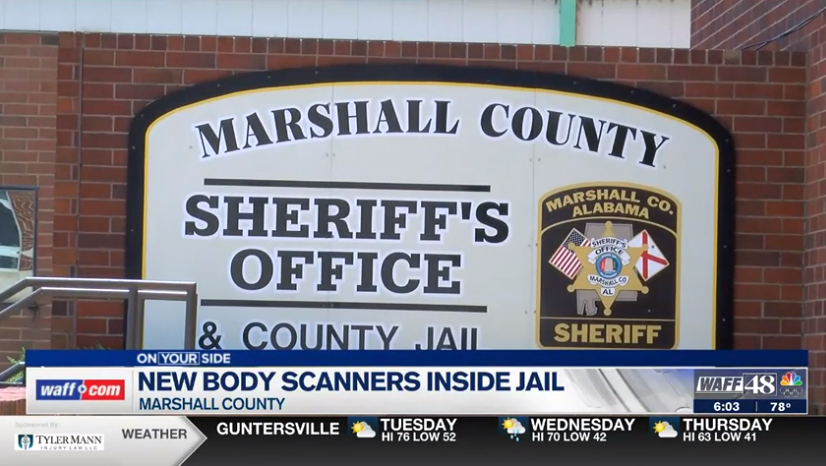Marshall County Sheriff's Office receives new body scanner for inmates
